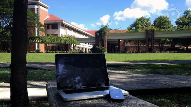 ATENEO: LTE hunting at the Ateneo de Manila University