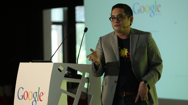 REYES SPEAKS. Narciso Reyes discusses how Google can help the Philippines.
