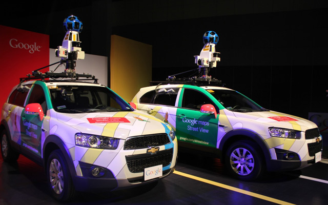 google launches street view cars photograph ph streets. Black Bedroom Furniture Sets. Home Design Ideas