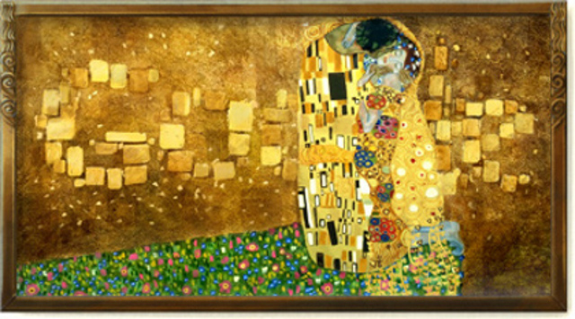 Doodle celebrating Gustav Klimt's 150th birthday