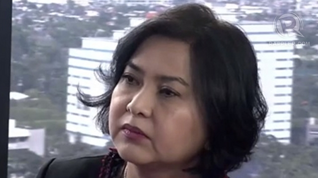 'ENRILE'S DISCRETION.' Commission on Audit Chairperson Grace Pulido Tan says the law gives Senate President Juan Ponce Enrile power over the use of Senate savings. File photo