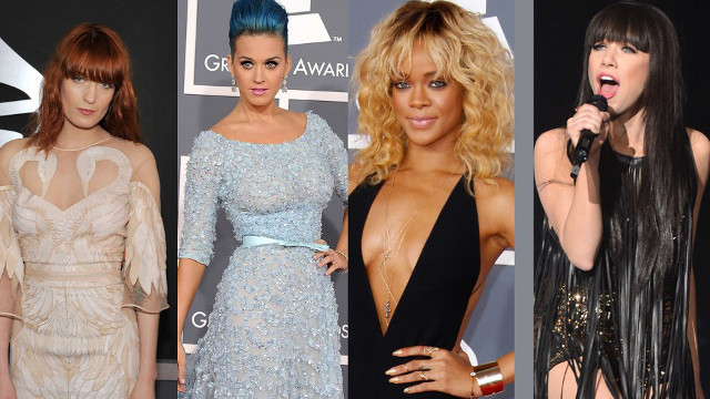 GREAT PERFORMERS, PROPER CLOTHES? Music stars attending the Grammys have been asked by CBS to wear 'proper clothes.' Let's see what they'll be wearing tonight! Image from the GRAMMYs Facebook page