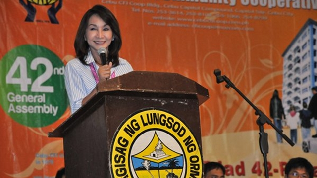 Cebu Gov Gwendolyn Garcia. Photo from cebu.gov.ph