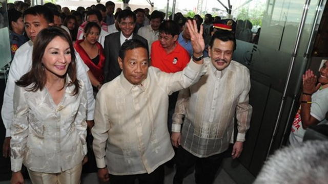 DROPPING SENATE. Cebu Governor Gwen Garcia is no longer running for senator under Binay and Estrada's UNA. She will instead run for Congress. File photo from Cebu website