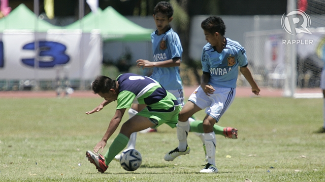 FOOTBALL. Photo by Rappler/Kevin dela Cruz.