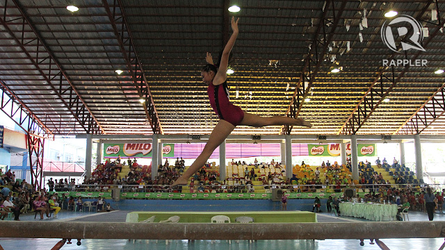 GYMNASTICS. Photo by Rappler/Josh Albelda.