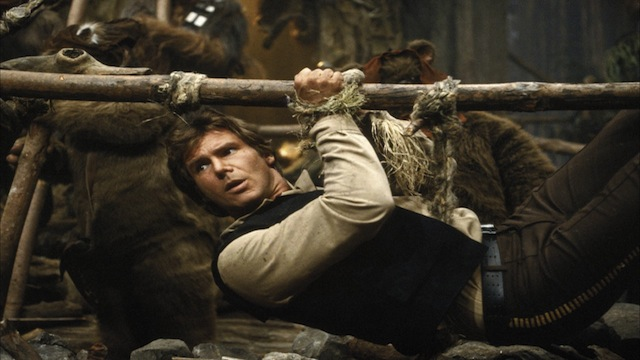 REPRISE. Harrison Ford has flagged intentions to reprise his Han Solo role. Photo from Star Wars' official website. 