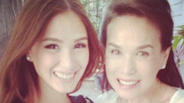 FAMILY FEUD? Heart Evangelista and mom Cecile Ongpauco pose happily for the camera. Screen shot from Heart's Instagram account (iamhearte)