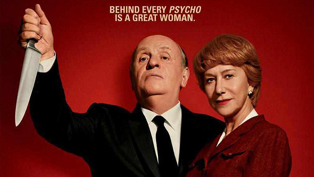 POWER COUPLE. Anthony Hopkins as Alfred Hitchcock and Helen Mirren as Alma Reville. All images courtesy of Fox Searchlight Pictures