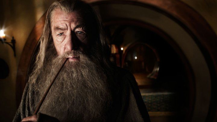 Ian McKellen as Gandalf in 'The Hobbit.' Image from the movie's Facebook page