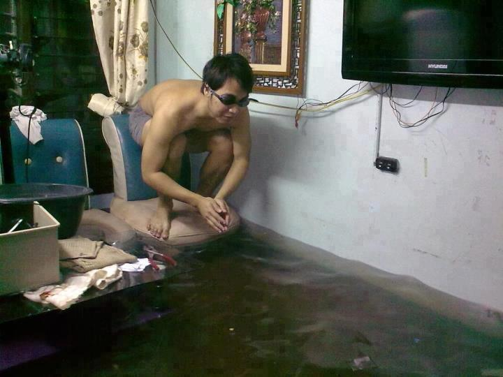 Indoor flood pool. Photo from Facebook
