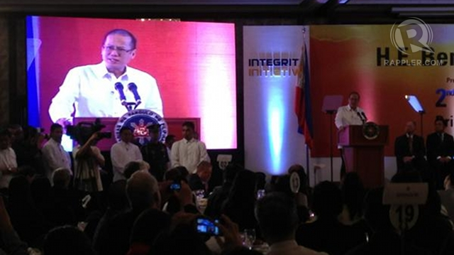 'LESS CORRUPT.' Businessmen perceive government to be less corrupt under President Benigno Aquino III. Photo by Paterno Esmaquel II