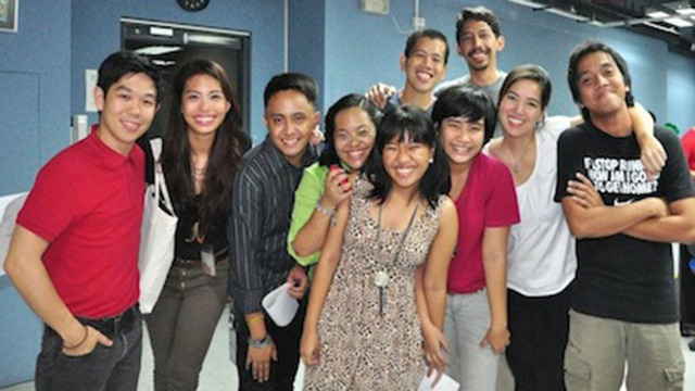 FUN TOO. After the hard work, interns take time out to pose with members of the Rappler team.