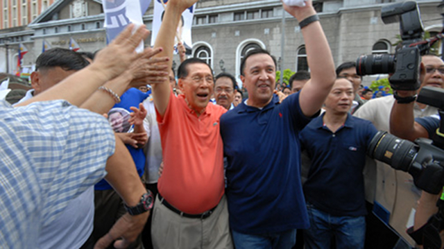 "HE'S JACK. Unlike Rep JV Ejercito, Rep Juan Ponce Enrile Jr opts to go with his real nickname ""Jack."" Pollsters admit some respondents confused him with his father, Senate President Juan Ponce Enrile. Photo by Joe Arazas/Senate PRIB"