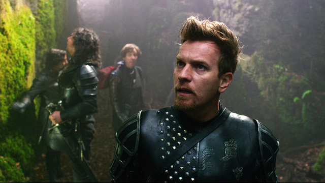 Ewan McGregor is the knight Elmont