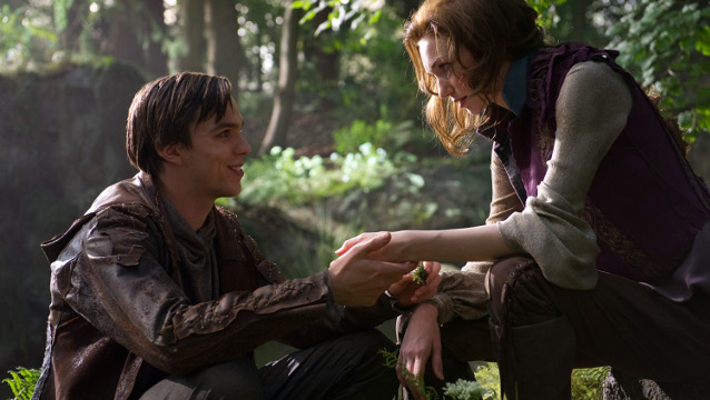 Jack falls in love with Princess Isabelle, played by Eleanor Tomlinson