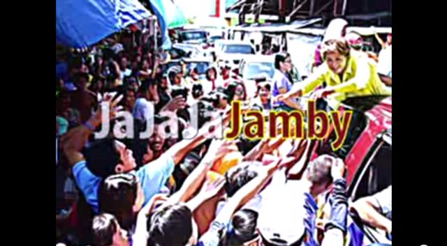 JAMBY FOR THE POOR. Senatorial candidate Jamby Madrigal emphasized her focus on helping the poor in her latest TV ad. Screenshot from YouTube.