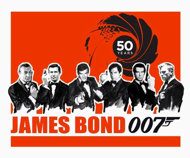 WHO IS YOUR FAVORITE Bond? What is your favorite movie? Tell us by posting your comment below. Image from the James Bond Facebook page