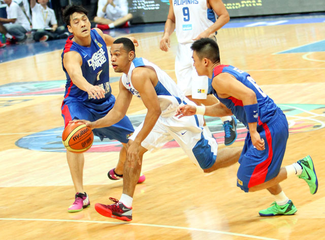 Jayson Castro established himself as Asia's best point guard in the 2013 FIBA Asia tournament. Photo by FIBA Asia/Nuki Sabio.