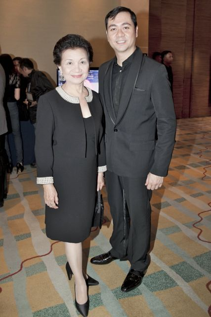 DESIGNER ANTON BARRETTO AND MOM