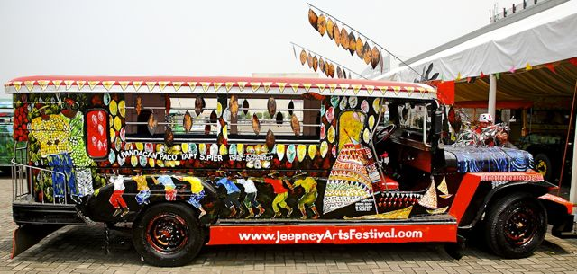 JEEPNEY ARTS FESTIVAL 1ST place winner