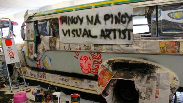 IT MAY BE AN offshoot of the American Jeep, but the jeepney — or 'dyip' — is 100% Pinoy