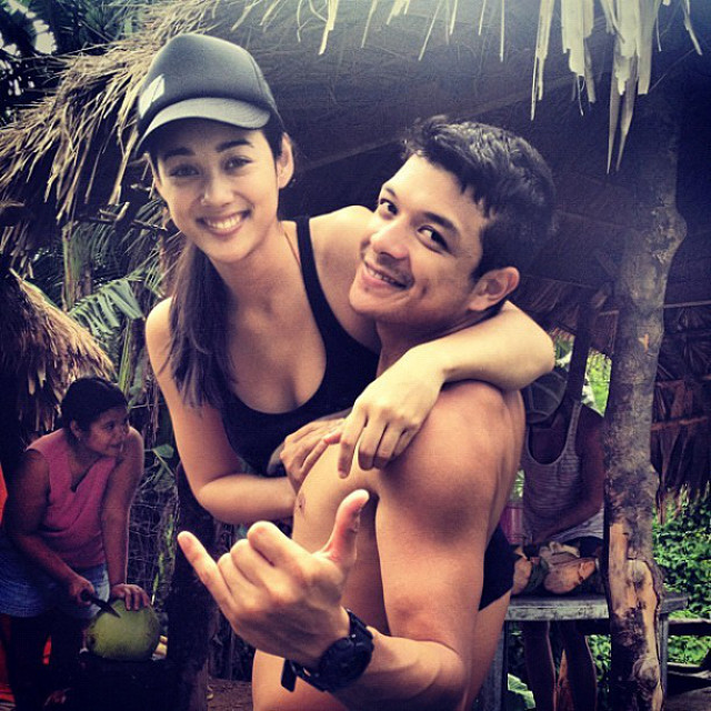 HAPPY IN LOVE. Kim Jones and Jericho Rosales. Instagram photo from Kim Jones's Facebook page
