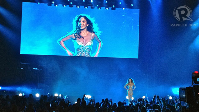 'It feels good here in the Philippines!' said JLo