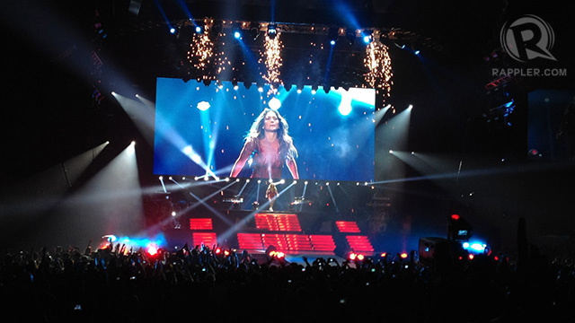JLo relishes the never-ending applause and cheers of her fans