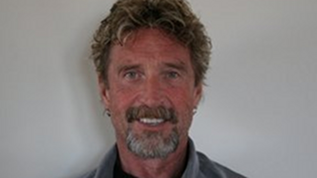 NO ASYLUM. Guatemala refuses to grant asylum to US anti-virus software pioneer John McAfee, allowing him to be deported to the US to face a murder case. File photo from McAfee's Facebook page