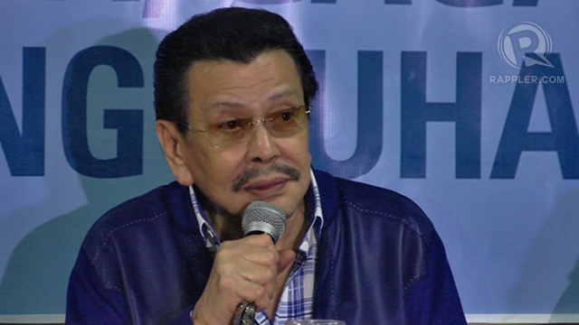 'NOT ABANDONING CLAIM.' Former President Joseph Estrada says President Aquino has not abandoned the Philippines' claim to Sabah. Unlike his senatorial candidates, he refuses to attack Aquino on the issue.