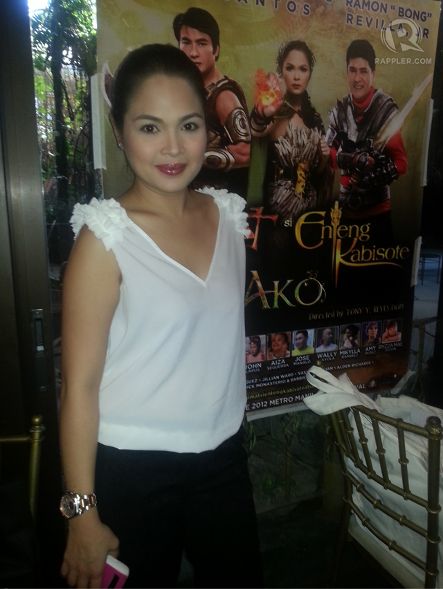 ONLY BROWN FOR HER. Judy Ann Santos shuns anything white — whether pasta, bread or rice. Photo by Rappler