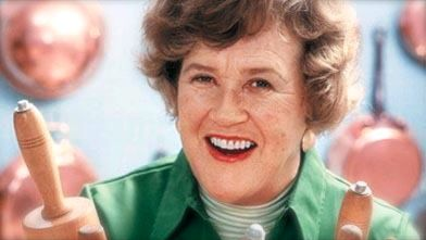 CELEBRATED AMERICAN CHEF JULIA Child. Image from Facebook