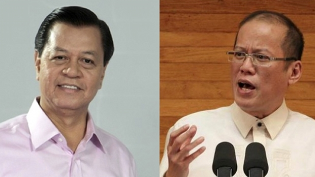 'BASELESS SPECULATION.' President Aquino criticized TV Patrol anchor Noli De Castro for supposed baseless speculation and negative commentary. De Castro's file photo from ABS-CBN, Aquino's file photo from Malacañang Photo Bureau