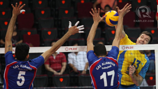 Asian men's volley QFs: Iran and China tested, Kazakhs roar