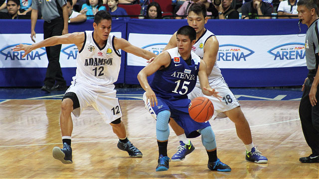 BACK IN ACTION. Ravena returned after missing 2 games. Photo by