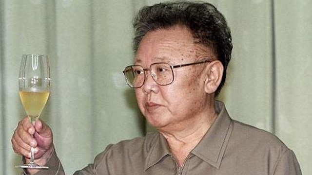 DEAR LEADER. Former North Korean leader Kim Jong-il died a year ago in Pyongyang. Photo from Facebook