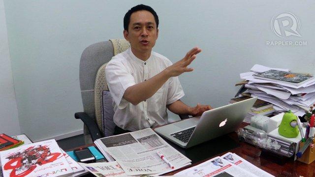 Kyaw Swe burma