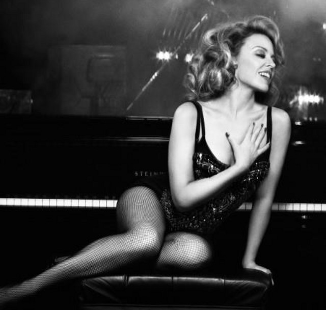 FINE LIKE WINE. When Kylie Minogue sang a solo version of 'Especially for You' at her Aphrodite concert in Manila in 2011, the crowd went wild. Photo from the official Kylie Minogue Facebook page
