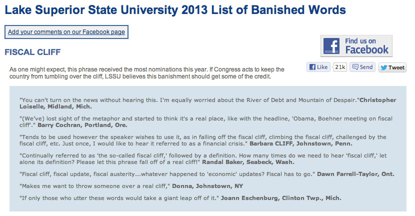 Screen shot from www.lssu.edu/banished