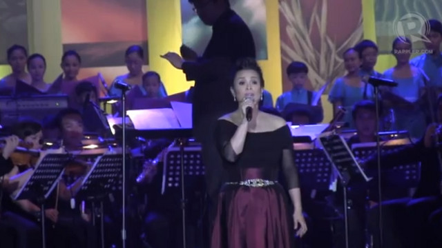 WORLD-CLASS. Miss Lea Salonga lends her voice to a night of love, generosity and beautiful music
