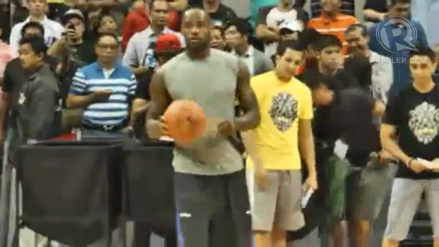 VIDEO Highlights: #WitnessHistory LeBron basketball clinic