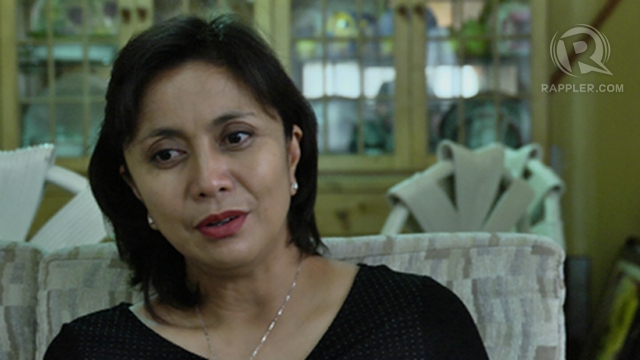 MOVING ON. Leni Robredo, the wife of late Interior Secretary Jesse Robredo, says she believes her husband's death was an accident. Adrian Portugal.