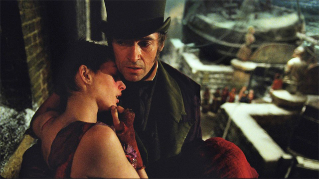 OSCAR WINNERS? Anne Hathaway as Fantine and Hugh Jackman as Jean Valjean. Photo from the movie's Facebook page