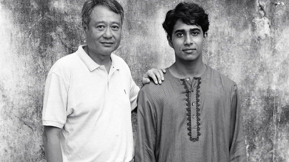 LIFE-CHANGING. 'Life of Pi' director Ang Lee and lead Suraj Sharma. Image from the movie's Facebook page