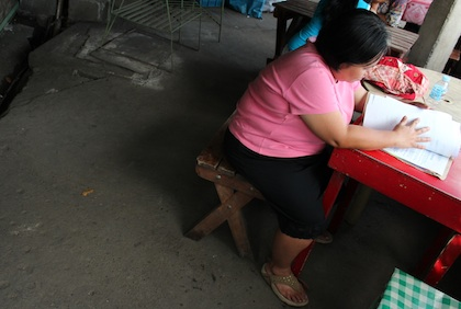CASES. There have been over a thousand registered prostituted women in Davao City since 2011. Photo by Mick Basa
