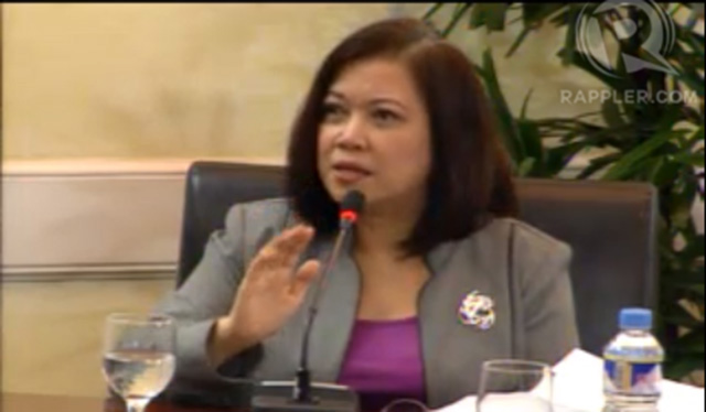 POLICY ISSUE. Chief Justice Maria Lourdes Sereno
