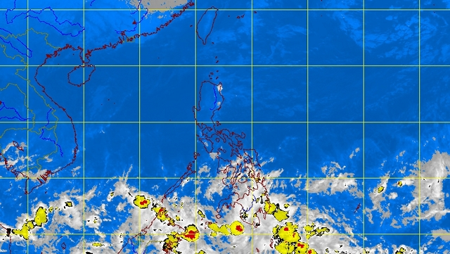 WEATHER DISTURBANCE. A new LPA is two or three days away from the Philippines. PAGASA satellite image as of 7:30 am