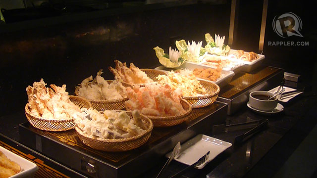 SAISAKI's TEMPURA SET