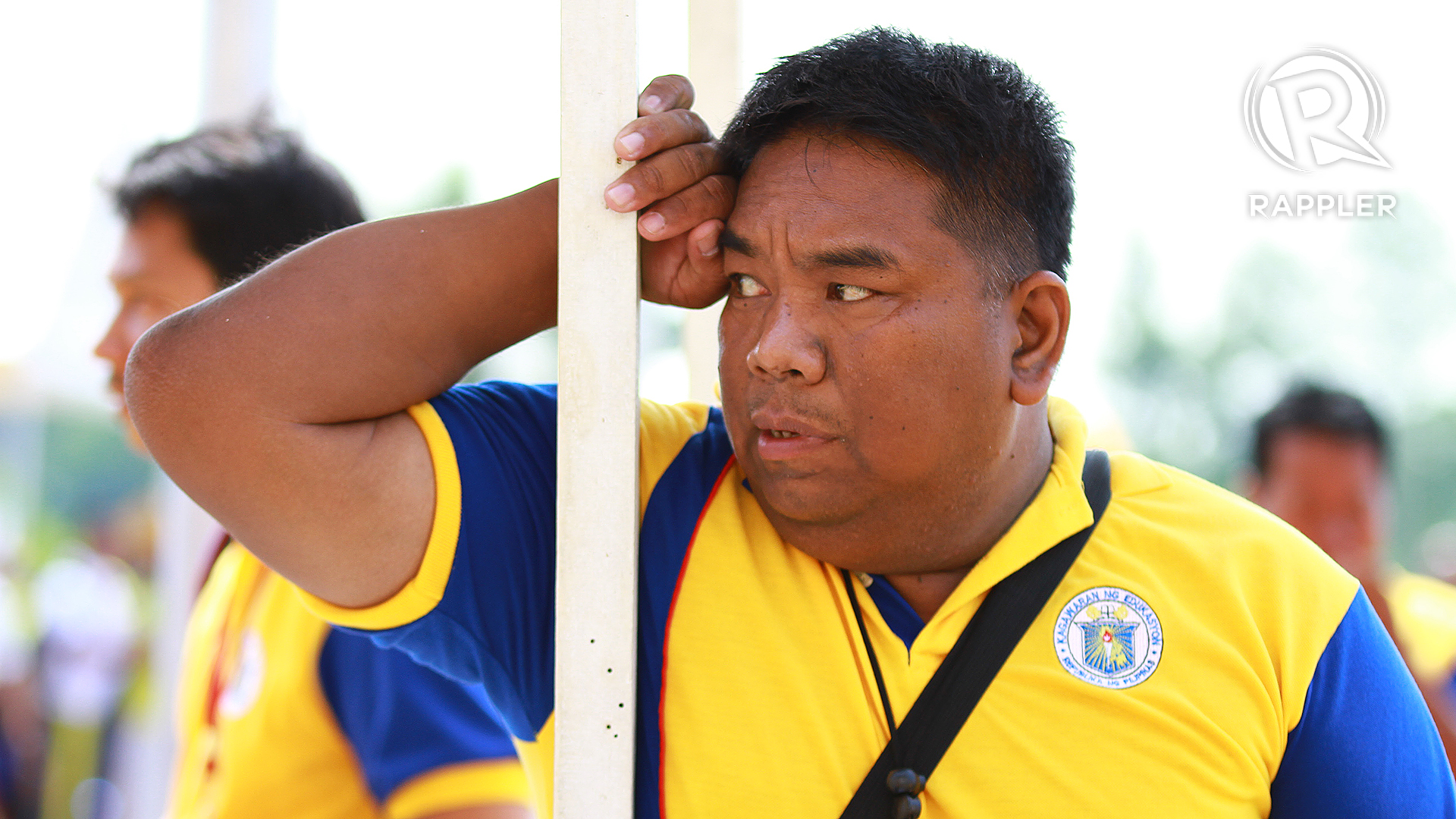 BIASED REFEREE? The referee that officiated the secondary boys volleyball finals match is under heat after calls anger Central Visayas. Josh Albelda.